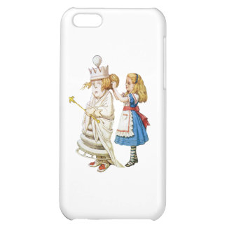 Alice Helps Out the White Queen in Wonderland iPhone 5C Case