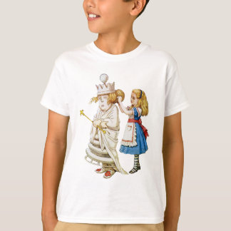 Alice Helps Out the White Queen in Wonderland T-Shirt