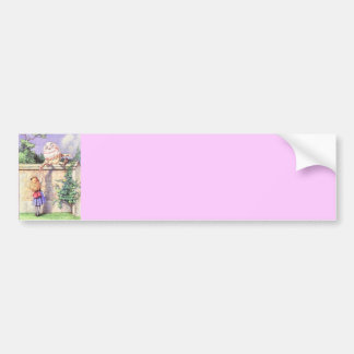 Alice & Humpty Color Bumper Sticker