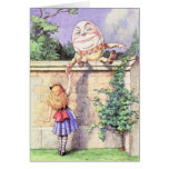 Alice & Humpty Color Greeting Cards