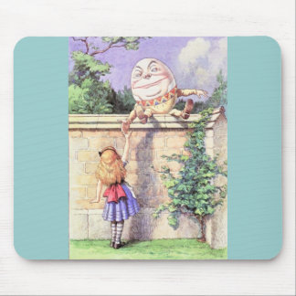 Alice & Humpty Color Mouse Pad