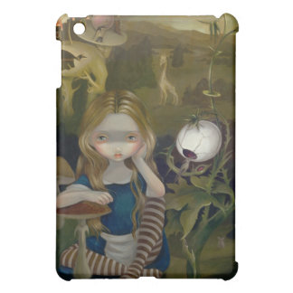 """Alice in a Bosch Landscape"" iPad Case"