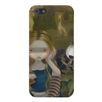 """Alice in a Bosch Landscape"" iPhone 4 Case"