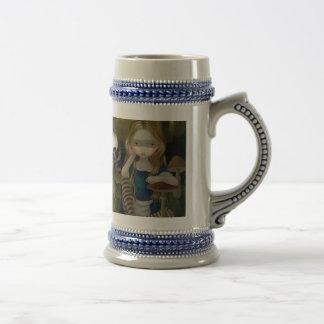"""Alice in a Bosch Landscape"" Mug"