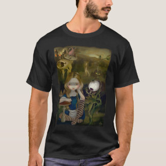 Alice in a Bosch Landscape wonderland gothic Shirt