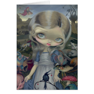 """Alice in a Bosch Wonderland"" Greeting Card"