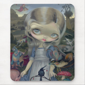 """Alice in a Bosch Wonderland"" Mousepad"
