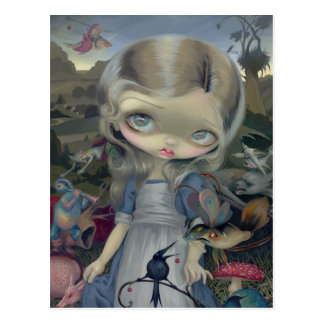 """Alice in a Bosch Wonderland"" Postcard"