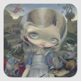 """Alice in a Bosch Wonderland"" Sticker"