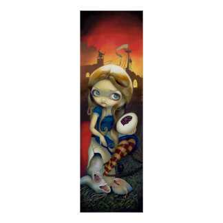 Alice in a Brueghel Vision ART PRINT Wonderland