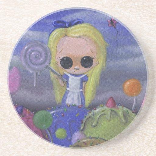 alice in candyland coaster