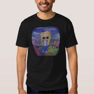 alice in candyland mens shirt