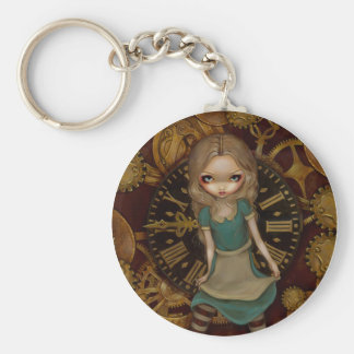 """Alice in Clockwork"" Keychain"