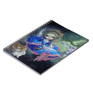 """Alice in Fragonard's Swing"" Notebook"
