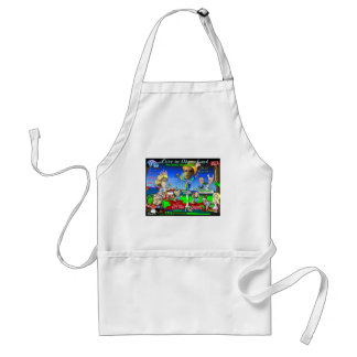 Alice in ObamaLand Adult Apron