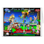 Alice in ObamaLand Greeting Cards