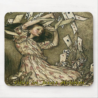 Alice in Texas Holdem Poker Mouse Pads
