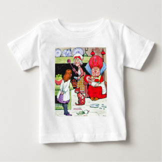 Alice in the Duchess' Kitchen with the Pig Baby Baby T-Shirt