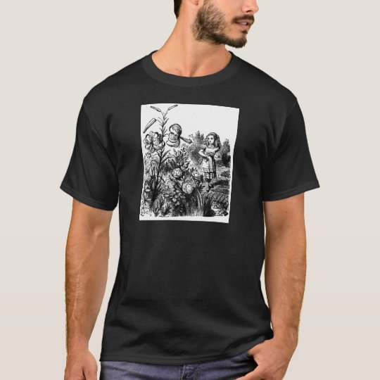 Alice in the Garden of Live Flowers T-Shirt