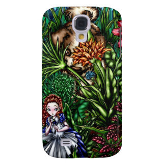 Alice in the Garden Samsung Galaxy S4 Cover