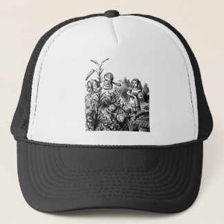 Alice in the Garden Trucker Hat