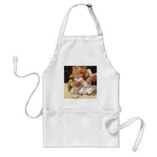 Alice in the Kitchen With the Duchess and Pig Baby Adult Apron