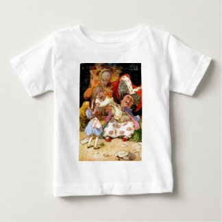 Alice in the Kitchen With the Duchess and Pig Baby Baby T-Shirt