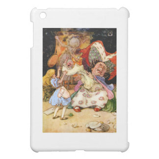 Alice in the Kitchen With the Duchess and Pig Baby iPad Mini Case