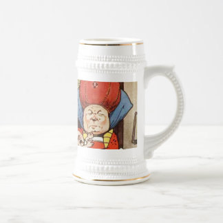 Alice in the Room of the Duchess Beer Stein