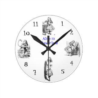 Alice in Wondarland Wall Clock