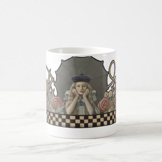 Alice in Wonderland 15 oz Mug by David Delamare