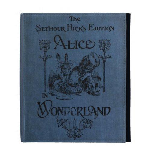 Alice in Wonderland 1905 book cover iPad Folio Case | Zazzle