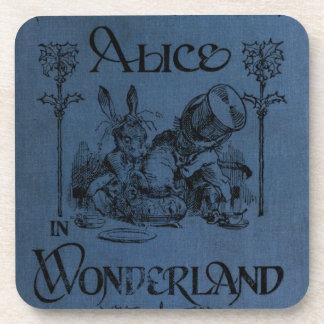 Alice in Wonderland 1905 book cover Drink Coaster