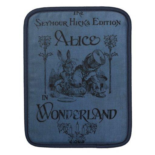Alice in Wonderland 1905 book cover iPad Sleeves