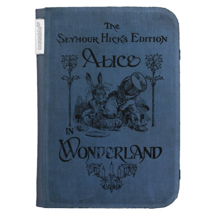 Kindle Book Cover Art ~ Alice in wonderland book cover kindle covers zazzle