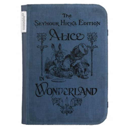 Kindle Book Cover Pictures : Alice in wonderland book cover kindle covers zazzle