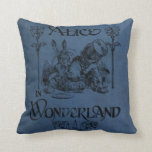 Alice in Wonderland 1905 book cover Throw Pillow