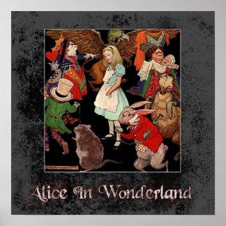 Alice In Wonderland 1 Poster