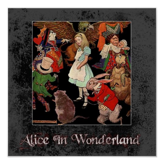 Alice In Wonderland 1 Poster