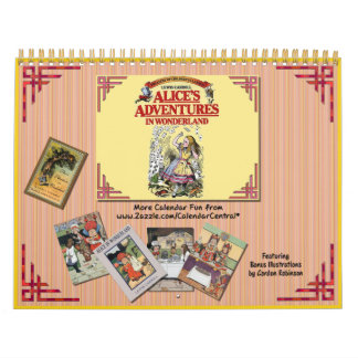 Alice In Wonderland Calendars and Alice In Wonderland Wall