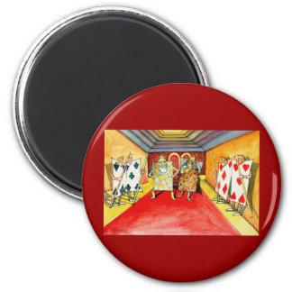 Alice In Wonderland 2 Inch Round Magnet