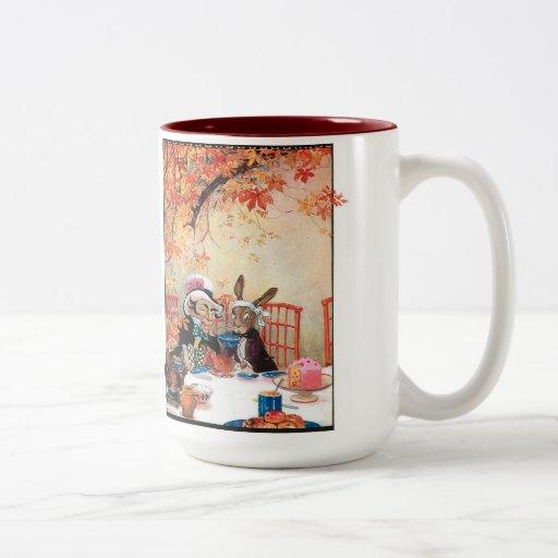 """Alice in Wonderland 2"" Two-Tone Coffee Mug"