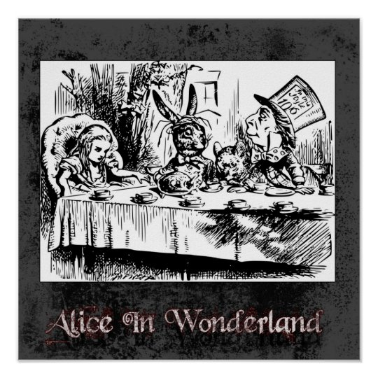 Alice In Wonderland 41 Poster