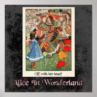 Alice In Wonderland 45 Poster