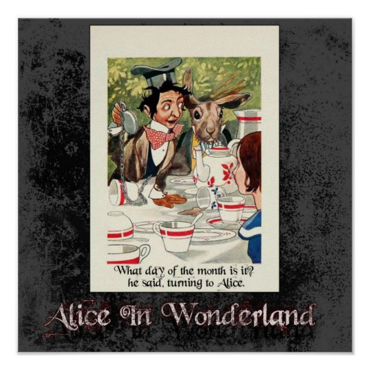 Alice In Wonderland 49 Poster