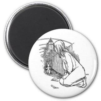 Alice in Wonderland 4 Magnet