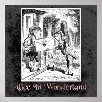 Alice In Wonderland 4 Poster