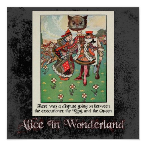 Alice In Wonderland 50 Poster
