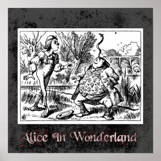 Alice In Wonderland 5 Poster