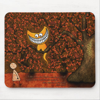 Alice in Wonderland - A Cheshire Cat Mouse Pad